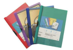 Red/ Purple/ Blue/ Green Clip File (F2025-1) pictures & photos