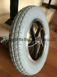 PU Foam Wheel for Electric Wheelchair Wheel pictures & photos
