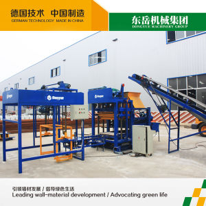 Hand Brick Making Machine|Block Press Machine|Cement Sand Brick Making Machine Qt4-25 Dongyue pictures & photos