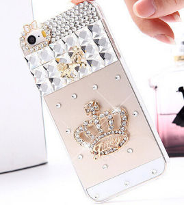 Mobile Phone Rhinestone Case for iPhone 5/5s Mobile Phone Shell
