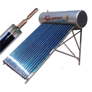 China Factory Pressurized Solar Hot Water Heater for Home pictures & photos
