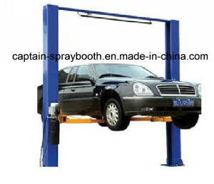 Two Post Clear Floor Car Lift pictures & photos