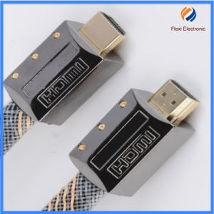China Fctory Super Speed 3D 4k Awm 20276 UL Wire HDMI Cabl with Filter pictures & photos