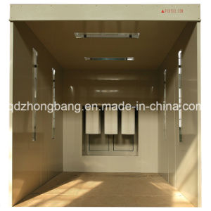 Hot Sell Economic Manual Hobby Powder Coating Booth with Ce pictures & photos