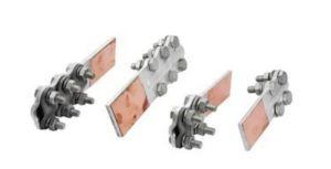 Explosive Weld Copper/Aluminium Clad Metal Transition Clamp pictures & photos