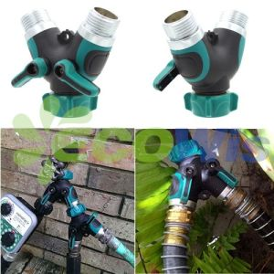Garden Hose Splitter Water Shut off Valve pictures & photos