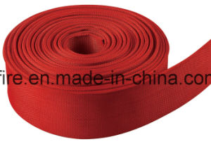 Four Colors Fire Hose Blue Red Green White PVC Lining Water Hose pictures & photos