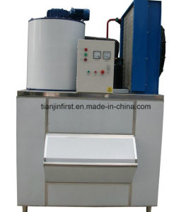 Small Flake Ice Machine 3 T/24h for Supermarket, Fishery Boat pictures & photos