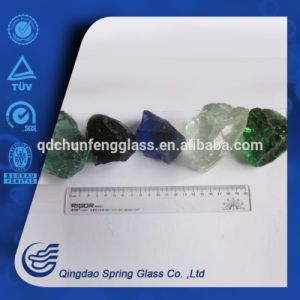 1-2cm Small Size Colored Glass Stones pictures & photos