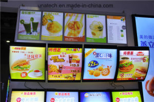 LED Menu Board Advertising Indoor Media Signage Light Box pictures & photos
