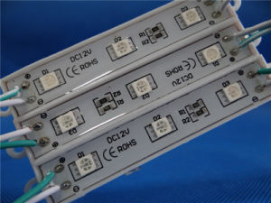 High Brightness 5050 3chips LED Module with Epistar pictures & photos