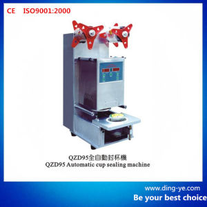 Automatic Cup Sealing Machine (QZD95) pictures & photos