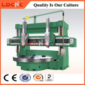 Chinese Double Column High Speed Automatic Vertical Lathe Machine Price pictures & photos