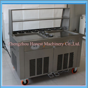 High Quality Fried Ice Machine with Good Compressor pictures & photos