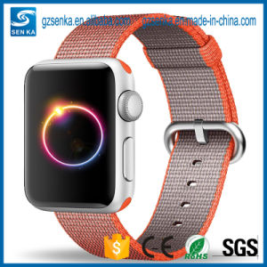 38mm 42mm Woven Nylon Perlon Strap for Apple Watch Band pictures & photos