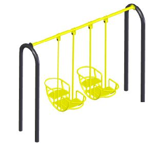 Children Outdoor Swing Chair Exercise Equipment a-14906 pictures & photos