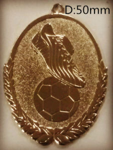Metal Elipse Medals for Football Competition (FCd6525)