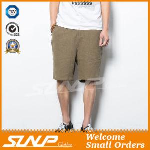 Men′s Woven Linen/Cotton Shorts Pant Clothes pictures & photos