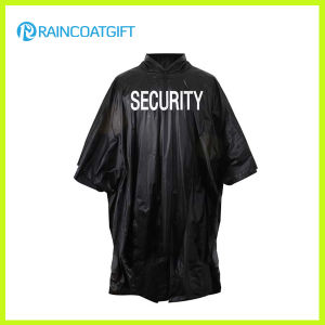 Reusable PVC Rain Poncho with Logo Printing for Advertising pictures & photos