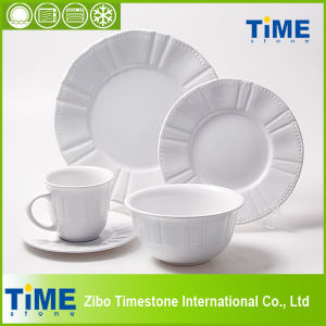 20PCS Ceramic Embossed Dinner Set (627036) pictures & photos
