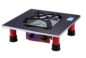 Ceramic Gas Grill with Gas Foot Heater and Stand Table pictures & photos