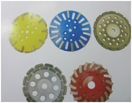 Best Quality Sharpening Double Row Diamond Grinding Disc pictures & photos