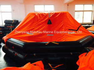 CCS Approved Marine Throw Overboard Inflatable Life Raft pictures & photos