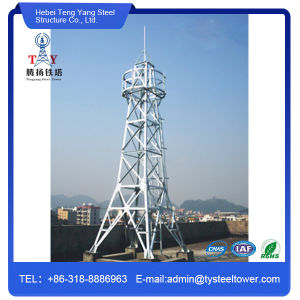 Hot DIP Galvanized Communication Watch Tower pictures & photos