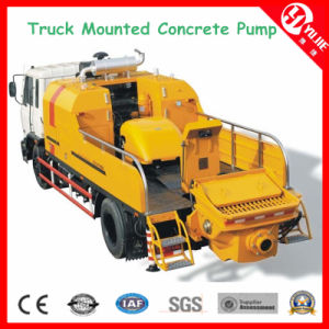 40m3/H-120m3/H Diesel Truck Mounted Concrete Pumps for Sale pictures & photos