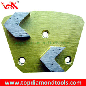 Segmented Trapezoid Metal Diamond Polishing Pad for Concrete pictures & photos