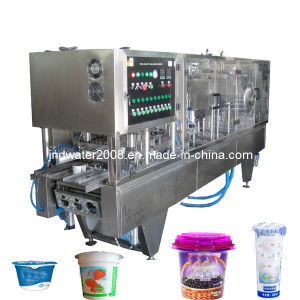 Automatic Cup Yogurt Filling Sealing Machinery pictures & photos