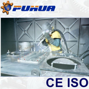 Sand Blasting Booths Equipment with Vacuum Recovery System pictures & photos