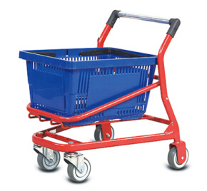 Supermarket Metal Kids Hand Shopping Cart pictures & photos