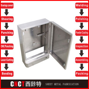 Customized Steel Metal Electric Panel Boxes pictures & photos