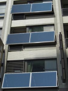 Balcony Wall-Mounted Solar Water Heater pictures & photos