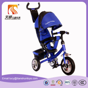 3 Colors Steel Frame Material Baby Stroller Tricycle for Kids pictures & photos