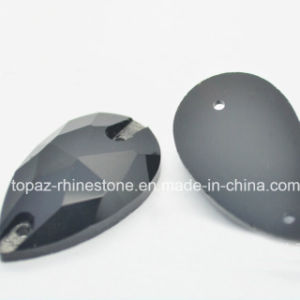 Costume Stones Sew on Glass Stone for High Heel Shoes (SW-Tear drop 7*12mm) pictures & photos