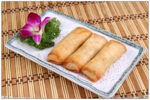 IQF Frozen 100% Hand Made Vegetable 50g/piece Spring Rolls with BRC Certification pictures & photos