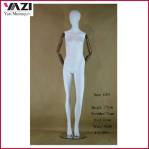 1603 Female Mannequin and Maniquies with Wooden Arms pictures & photos