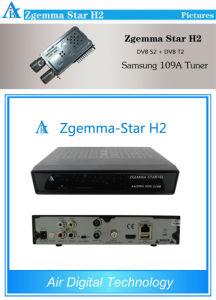 DVB-S2 T2 Zgemma H2 Combo Linux Hybrid Set Top Box pictures & photos