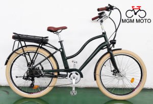 500W Retro Model Fat Tire Big Power City Electric Bike pictures & photos