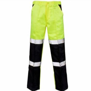 Custom Cheap Reflective Hi-Vis Oxford Mens Work Cargo Pants pictures & photos