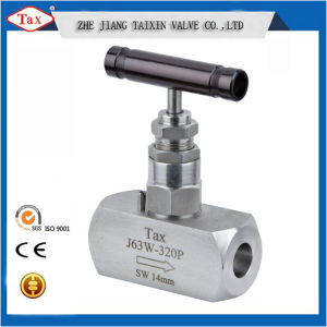 Stainless Steel Scoket Socket Connection Needle Valve