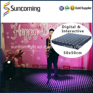 Cool Shiny Color LED Interactive Portable Dance Floor for Rent pictures & photos