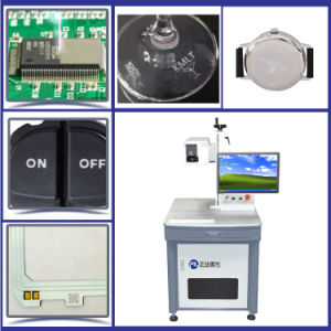 3watts UV Laser Marking Machine for PVC Valves Logo Engraving pictures & photos