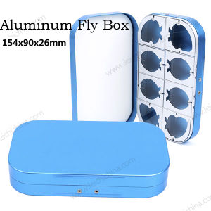 New High Quality Aluminum Fly Fishing Box pictures & photos