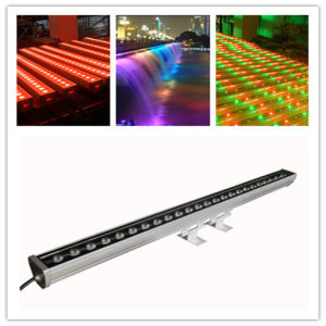 DMX 24pieces 10W LED Wall Washer Effect Flood Stage Lighting pictures & photos