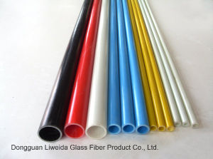 Pultruded High Strength Fiber Glass Pole/Tube, FRP Tube/Pipe