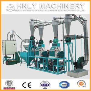 High Efficiency Small Scale Corn Flour Mill Maize Flour Milling Machine pictures & photos