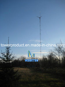 Megatro Guyed Wind Tower Mast (MG-GTW007) pictures & photos